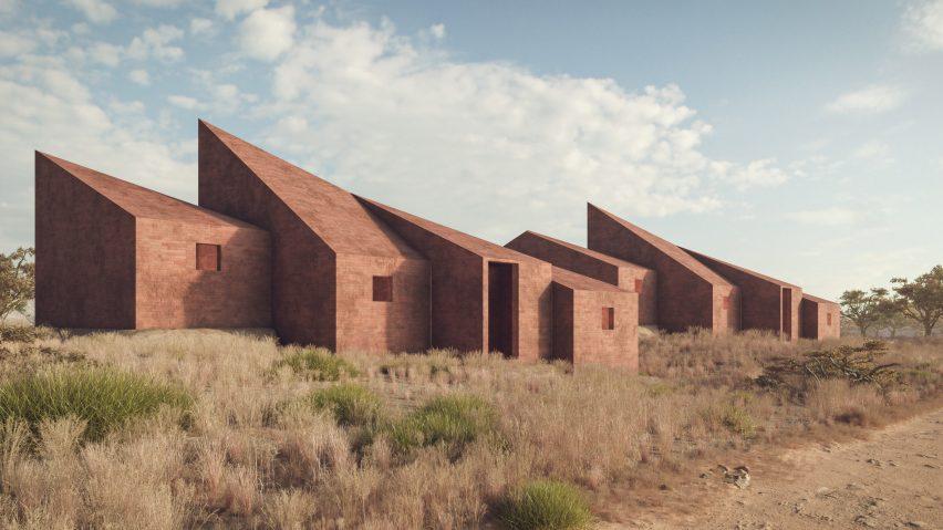 Dakar Houses by Marc Thorpe in Senegal for Moroso M'Afrique