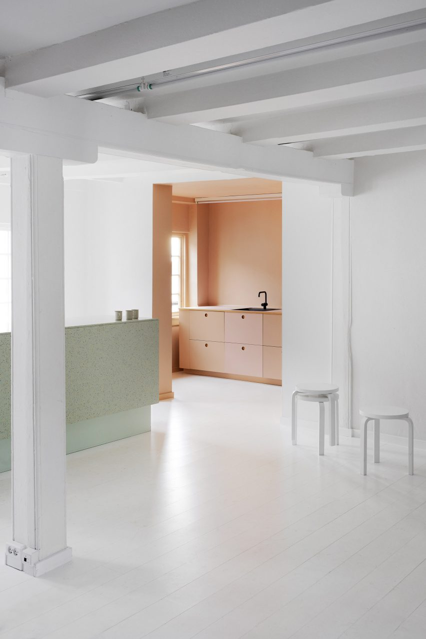 Designers Remix showroom in Copenhagen, designed by Reform