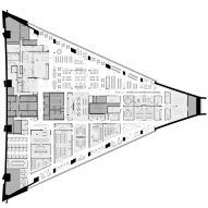 Montreal Olympic Stadium Tower by Provencher Roy Floor Plan