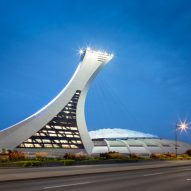 Montreal Olympic Stadium Tower by Provencher Roy