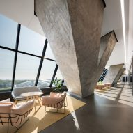 Provencher Roy creates bright and airy offices in Montreal Olympic Stadium tower