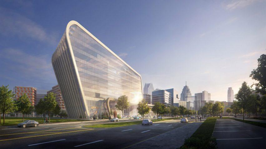 Detroit Center for Innovation by KPF
