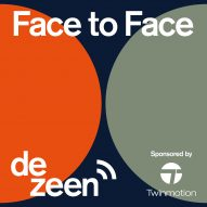 Dezeen to launch Face to Face, a series of podcasts featuring leading architects and designers