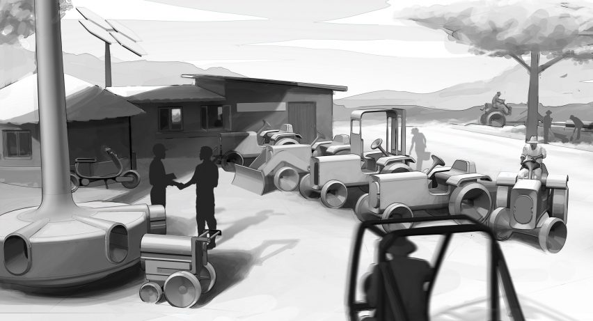 AMO and Volkswagen designing an electric tractor for sub-Saharan Africa