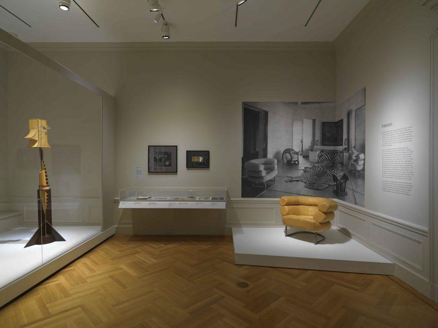 Eileen Gray exhibit at Bard Graduate Center