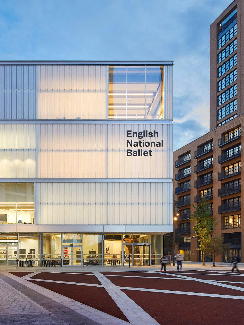 English National Ballet by Glenn Howells