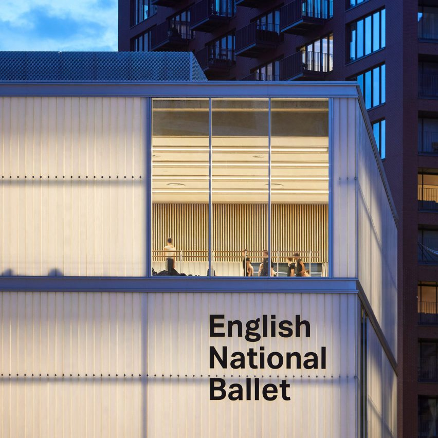 Top 10 British architecture projects of 2020: English National Ballet by Glenn Howells