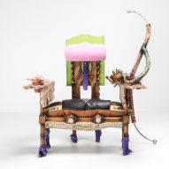 Messgewand makes maximalist furniture from waste and found objects