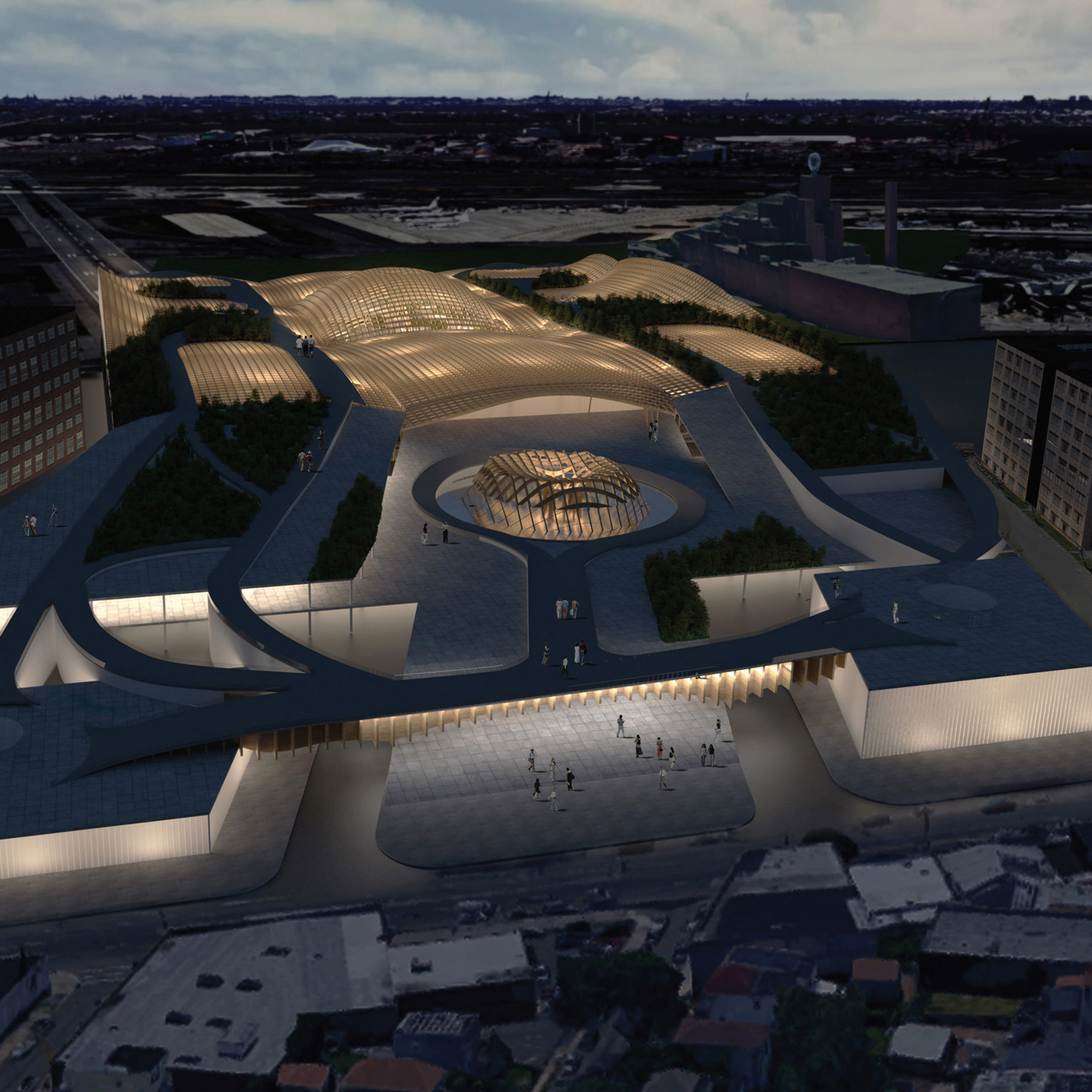 Fentress Architects launches competition to design airport of the ...