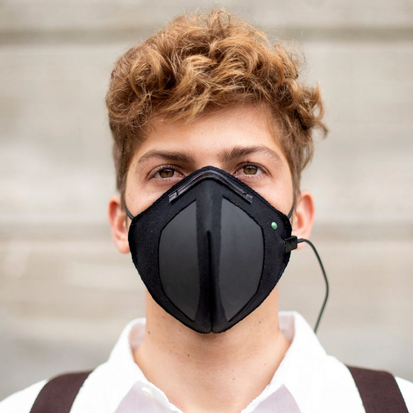 Guardian G-Volt masks would use graphene and electrical charge to repel viruses and bacteria