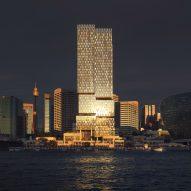 Henning Larsen designs Cockle Bay Park skyscraper on Sydney waterfront