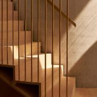 House in Coombe Park by Eldridge London staircase