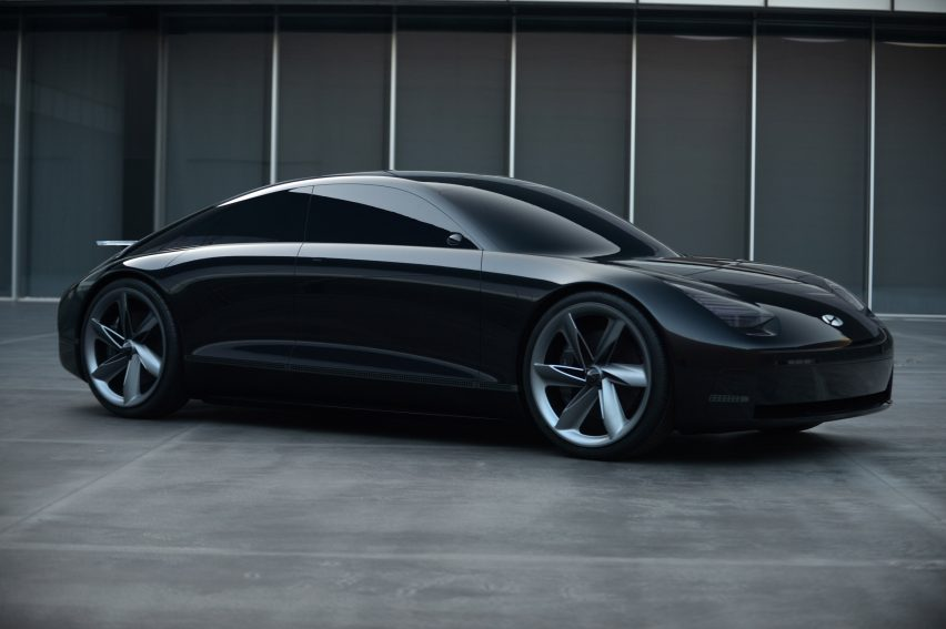 "Hyundai unveils Prophecy electric vehicle concept with ""sensuous"" design"