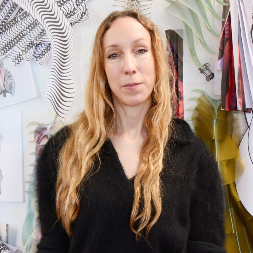 "Architectural knowledge is ""very useful for material development"" in fashion says Iris van Herpen"