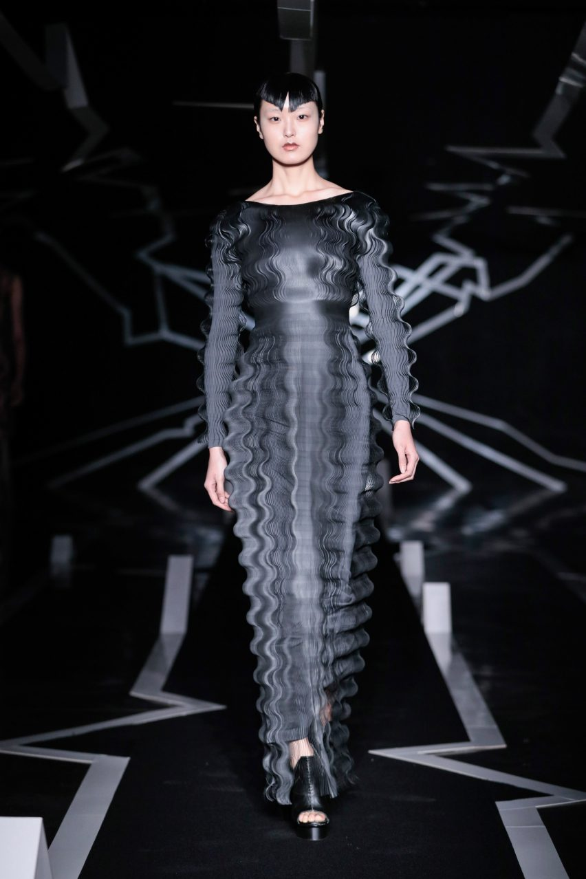 """Architectural knowledge is """"very useful for material development"""" in fashion says Iris van Herpen"""