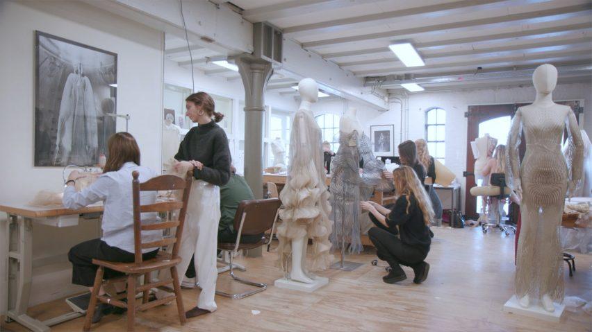 Iris van Herpen's atelier in Amsterdam