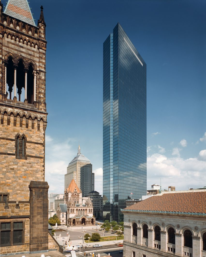 John Hancock Tower, Boston, by Pei, Cobb, Freed