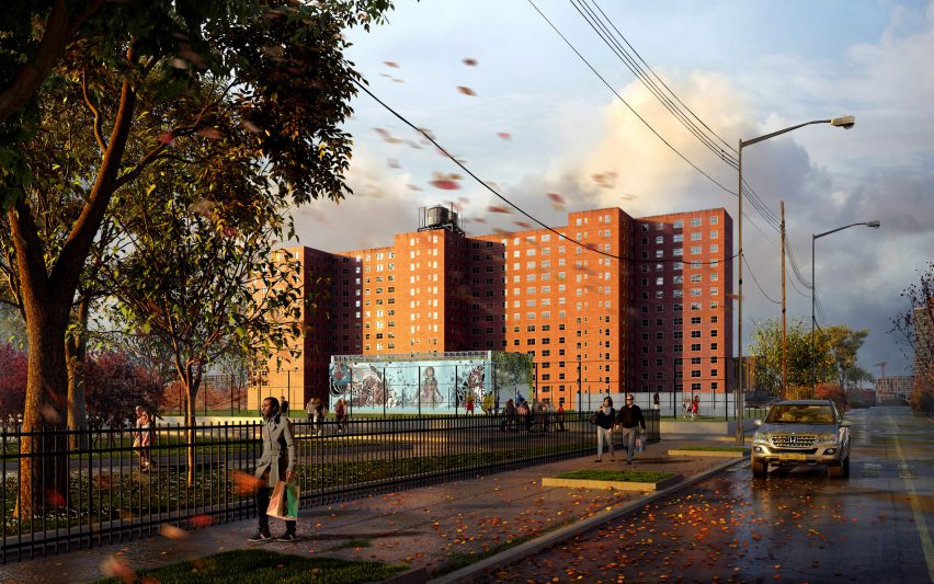 NYCHA Red Hook Sandy Resiliency + Heart Program by KPF