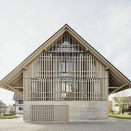 Steimle Architekten transforms traditional German barn into Kressbronn Library