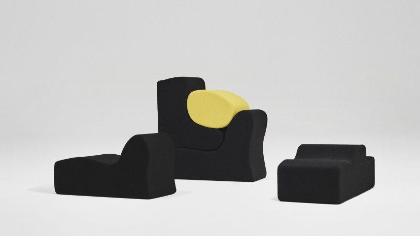 Raf Simons Designs Kvadrat Upholstery Collection