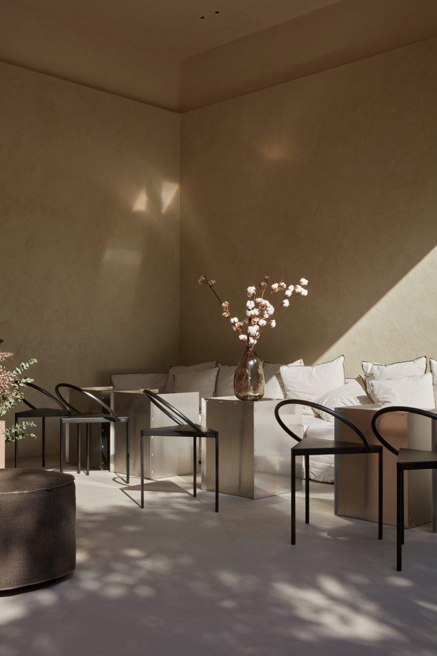La Petite cafe in Al Ain, designed by Bone