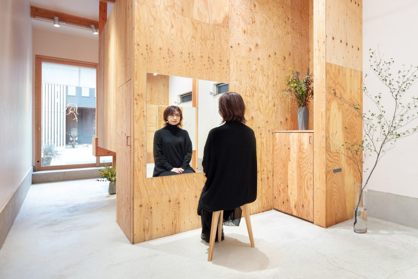 Land salon in Osaka designed by Sides Core