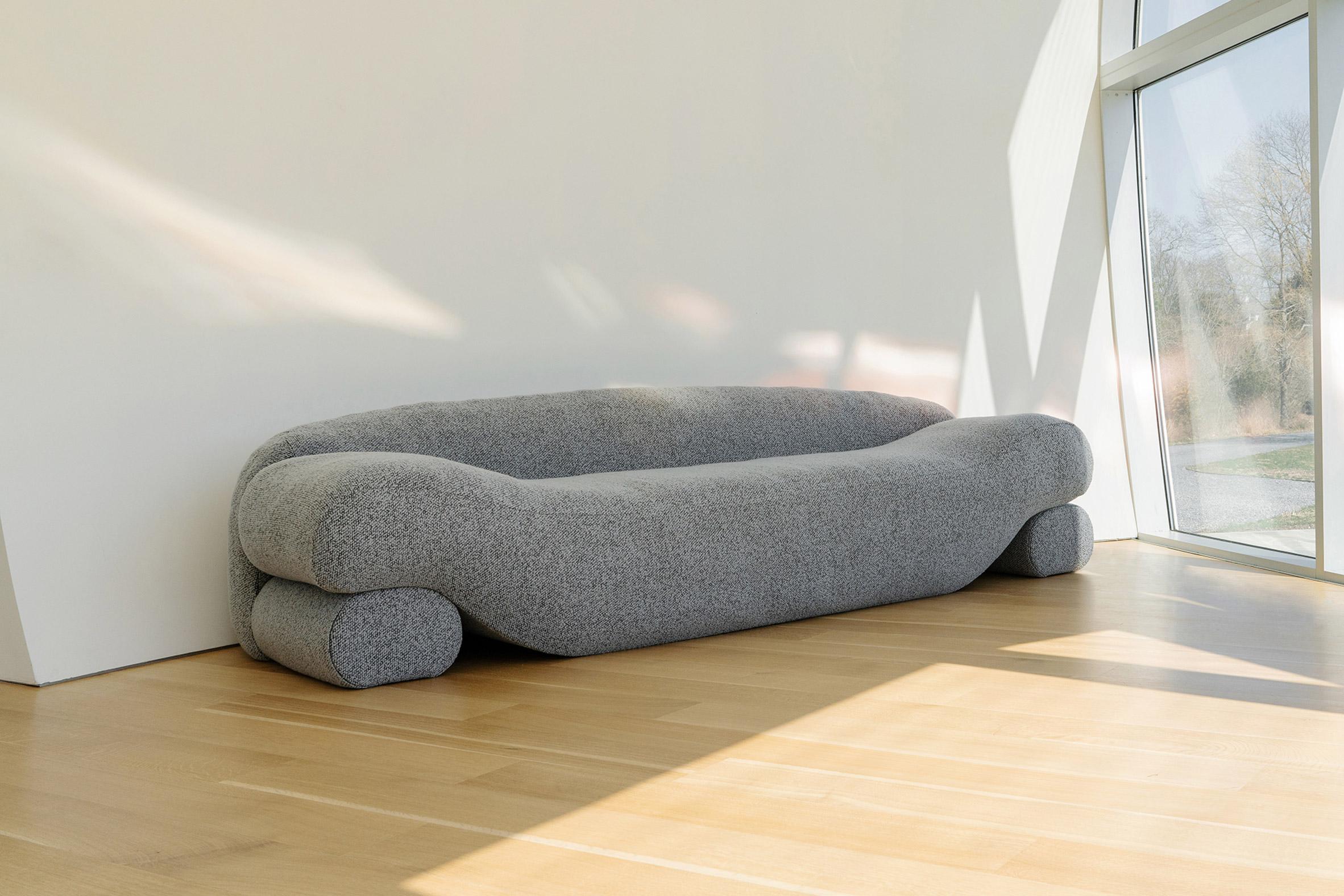 Latex-filled Beanie sofa by Nina Edwards Anker