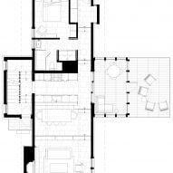 Lawless by Searl Lamaster Howe Architects First Floor Plan
