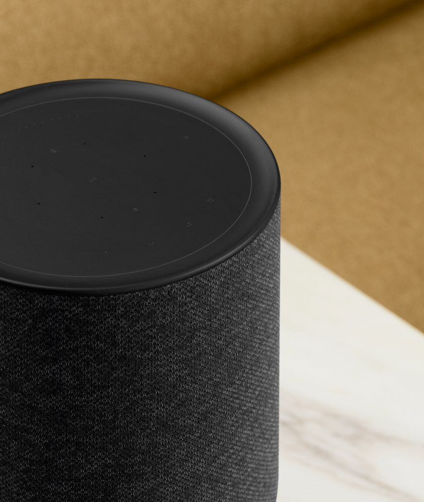"""Layer designs Bang & Olufsen speaker that """"visually describes how the audio functions"""""""