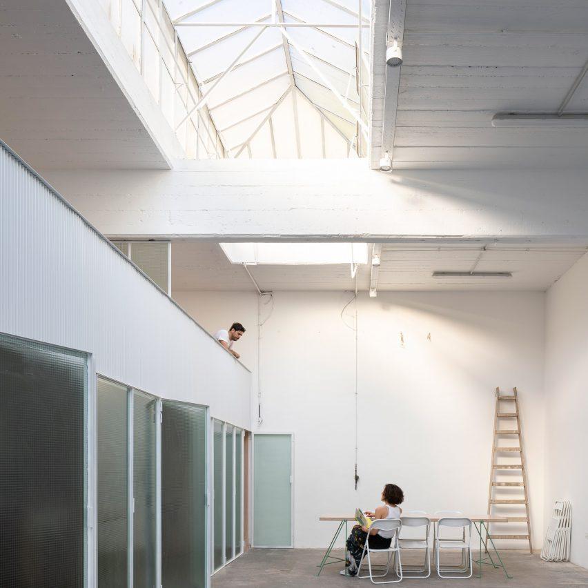 Estudio Nu retrofits creative studios in former Buenos Aires workshop