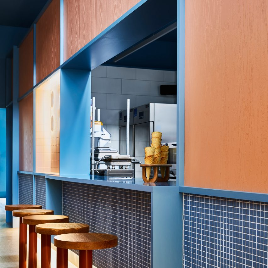 """Little Sky ice cream shop in Melbourne aims to capture the """"theatre of gelato"""""""