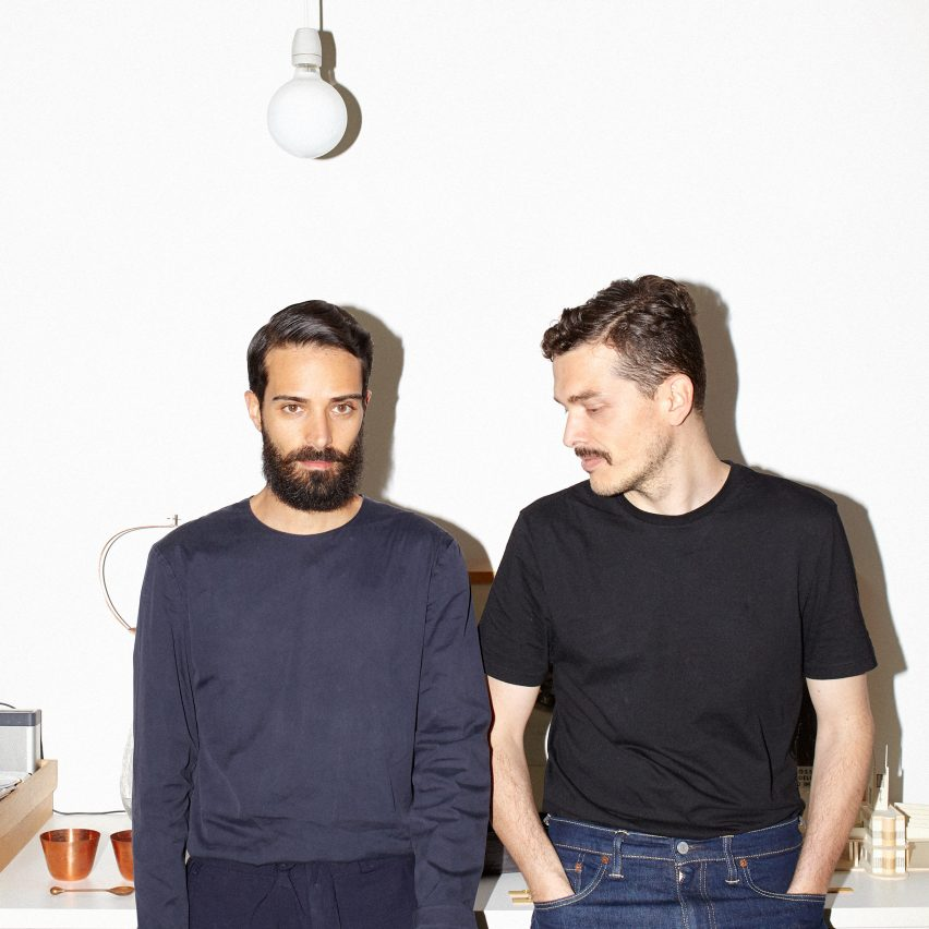 Dezeen's chief content officer Ben Hobson will speak to Andrea Trimarchi and Simone Farresin of Formafantasma about their new exhibition at the Serpentine Gallery in London