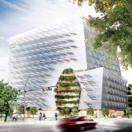 Morphosis unveils 13-storey Lululemon headquarters for Vancouver