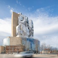 Frank Gehry's tower at Luma Arles in France photographed by Atelier Vincent Hecht
