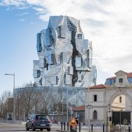 Frank Gehry's twisting Luma Arles tower nears completion in France
