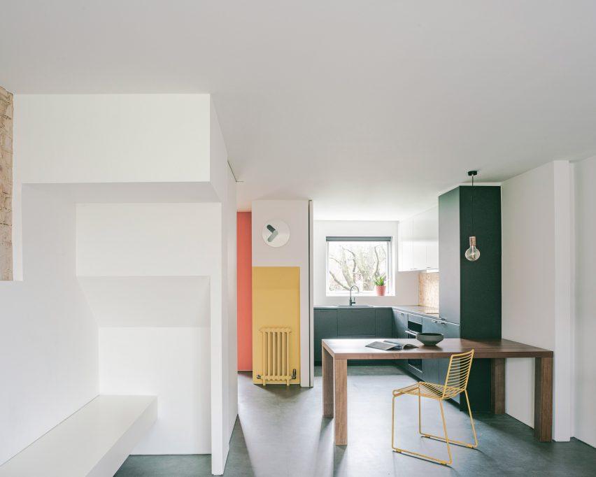 Maisonette in Notting Hill by Francesco Pierazzi Architects