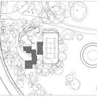 Tennis Pavilion by Melania Trump