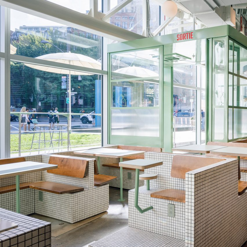La Firme transforms cramped space into Montreal's sun-lit Melk Cafe
