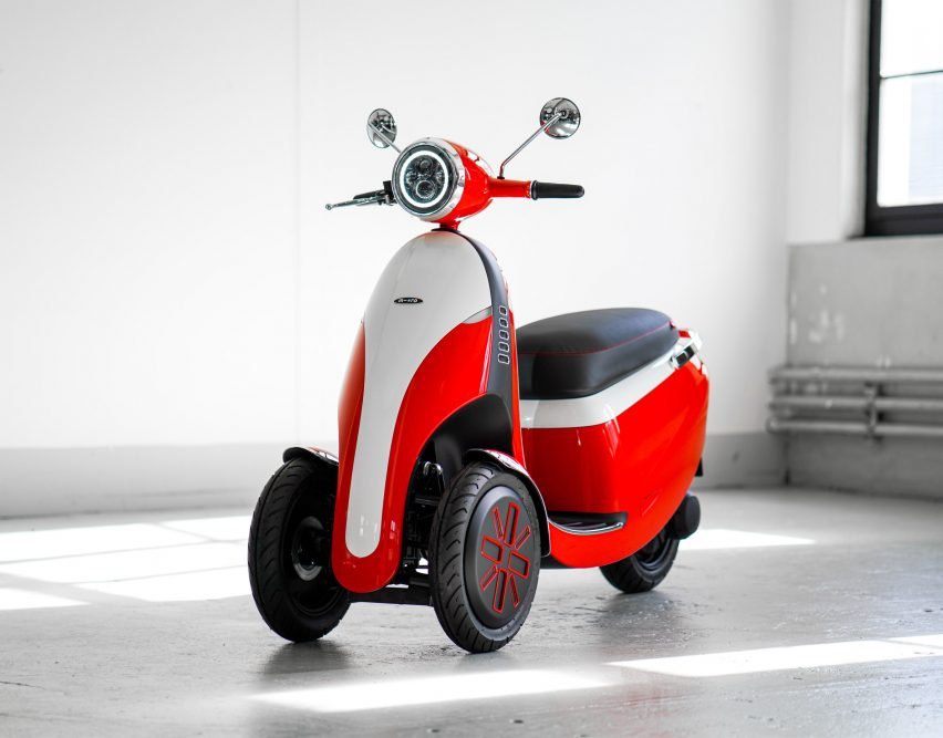 Micro unveils Microlino electric bubble car and three-wheeled e-scooter