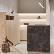 Finnish granite and pine feature in Helsinki's Nanso shop