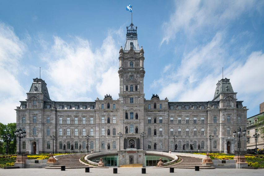 National Assembly of Quebec by Provencher Roy