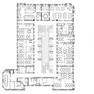 NeueHouse in Bradbury Building by DesignAgency Floor Plan
