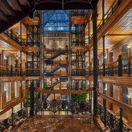 NeueHouse in Bradbury Building by DesignAgency