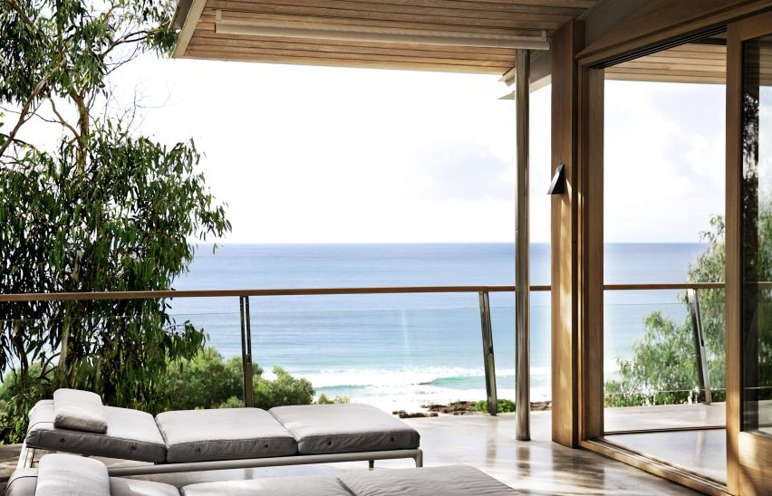 Ocean House by Rob Mills Architecture & Interiors terrace