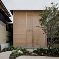 """Tomoaki Uno Architects creates peaceful home to be """"healing architecture"""""""
