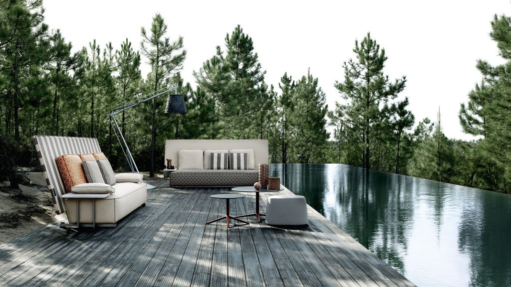 Outdoor Furniture By Philippe Starck, Studio Converting Outdoor Sofa