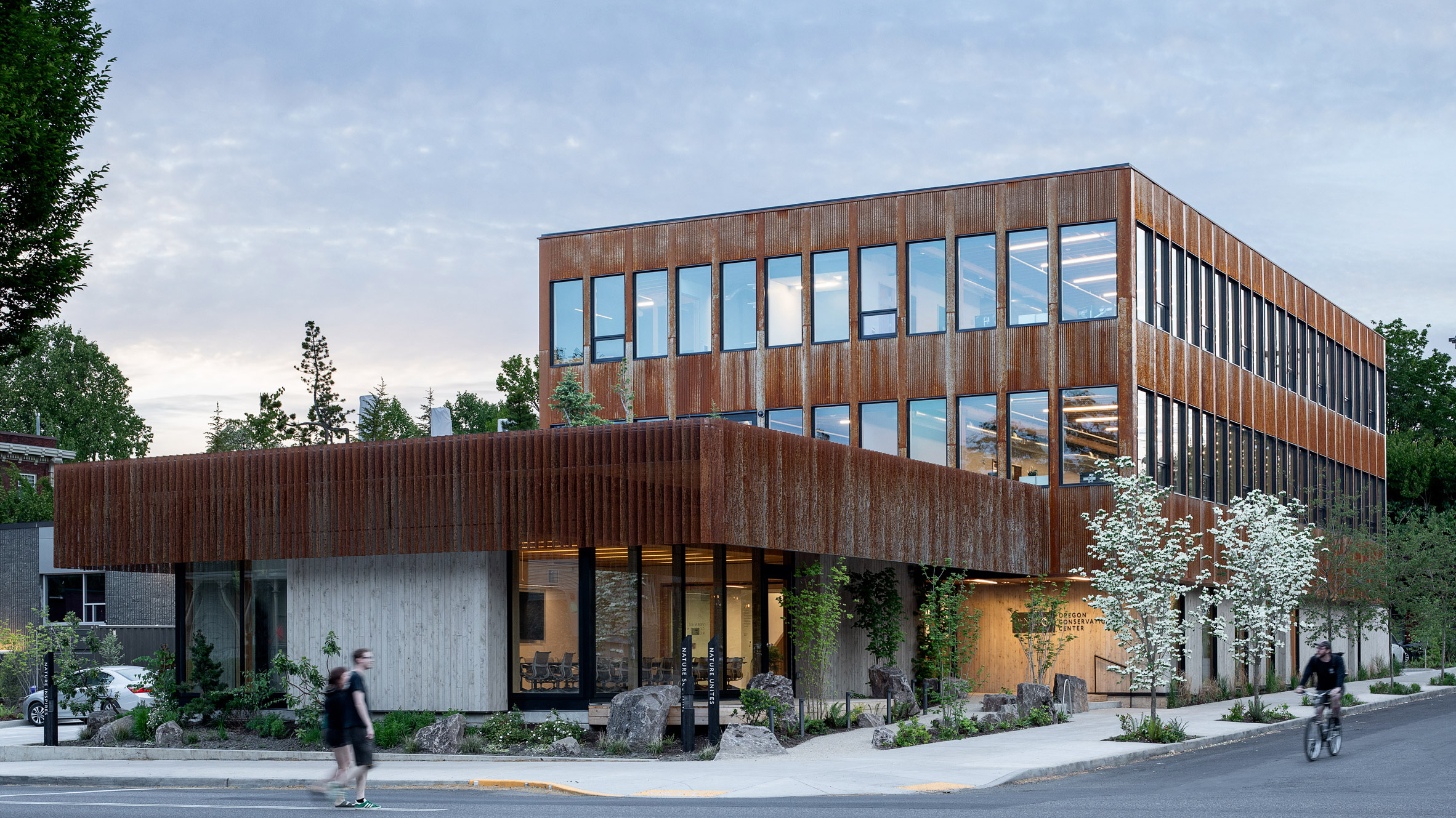 Image of article 'Lever Architecture designs CLT extension for Portland office'