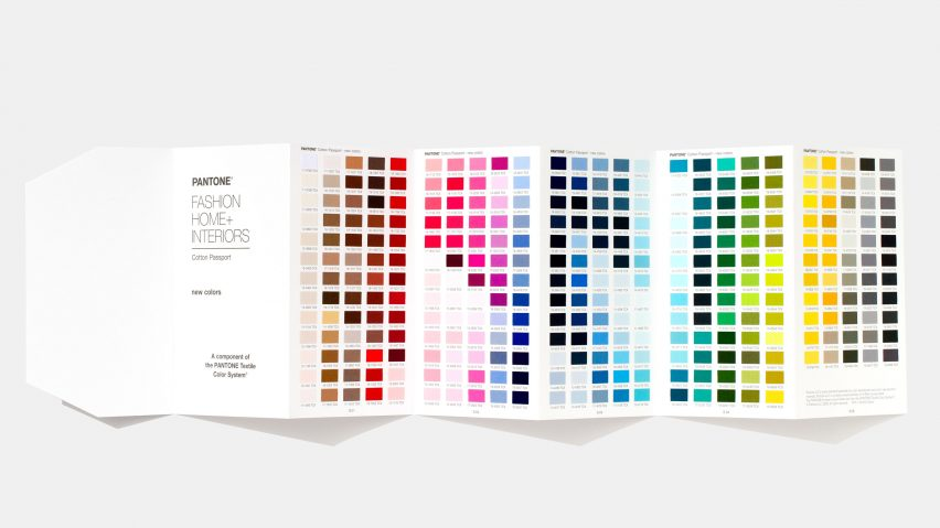 Pantone reveals 315 new colours
