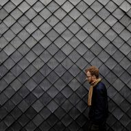 """Pretty Plastic shingles made from recycled PVC windows and gutters are """"first 100 per cent recycled cladding material"""""""