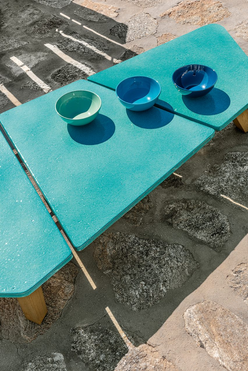 Rafael outdoor furniture by Paola Navone